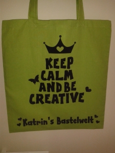 Tasche Ceep Calm and be Creative